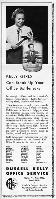 Kelly Office Ad